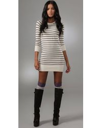 Rag & Bone | White Putney Cashmere Dress | Lyst