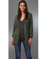 Reformation | Green Tatum Jacket | Lyst