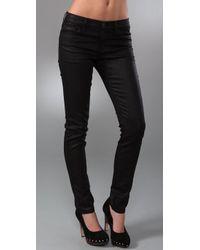 Rezin - Black Aslan Mid Rise Skinny Jeans - Lyst