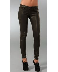 Rich & Skinny | Brown Super Stretch Legacy Denim Leggings | Lyst