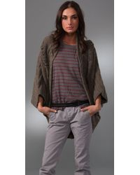 Textile Elizabeth and James - Natural Eleanor Cocoon Sweater - Lyst