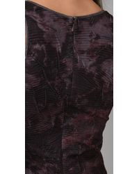 Torn By Ronny Kobo | Purple Torn Samantha Dark Splatter Dress | Lyst
