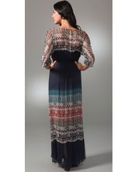 Twelfth Street Cynthia Vincent - Blue Long Ombre Dress - Lyst