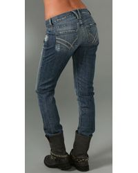 William Rast - Blue Sami Slouch Jean - Lyst