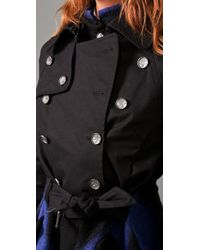 L.A.M.B. - Black Double Breasted Tailcoat - Lyst