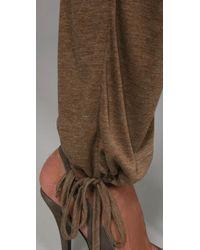 Indah | Brown Catalina Dolman Jumpsuit | Lyst