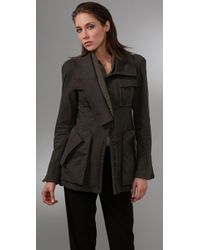 Nanette Lepore | Green Dr. No Army Jacket | Lyst