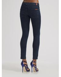 7 For All Mankind - Blue Petite Lexie Gwenevere Jeans - Lyst