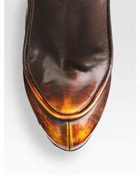 Alexander Wang | Gray Merino Wool Rib Knit Leggings | Lyst