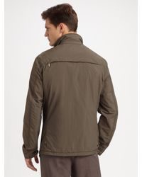 Armani - Natural Packable Travel Jacket for Men - Lyst