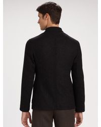 Armani | Gray Nehru Jacket for Men | Lyst
