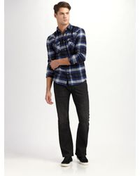 DIESEL - Blue Zatiny Slim Bootcut Jeans for Men - Lyst