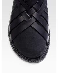 Dior Homme | Black Runway Sandals for Men | Lyst