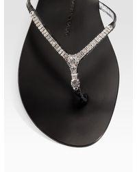 Emilio Pucci - Black Lurex Bandeau Two-piece Bikini - Lyst