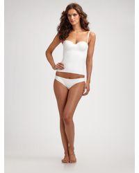 La Perla | White Lace Panties | Lyst