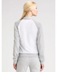 Lacoste - Gray Rib-cuff Sweatpants - Lyst