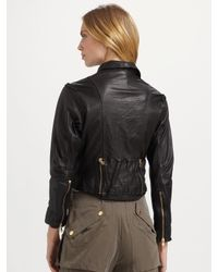Marc By Marc Jacobs - Black Glove Leather Jacket - Lyst