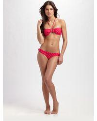 Marc By Marc Jacobs | Pink Dreamy Logo Bikini Bottom | Lyst