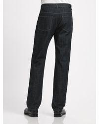 Michael Kors - Blue Classic Straight-leg Jeans for Men - Lyst