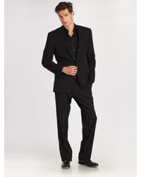 Ralph Lauren Black Label | Black Anthony Two-button Suit for Men | Lyst