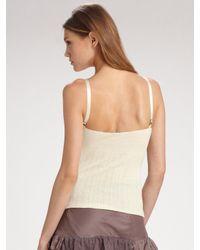 Ralph Lauren Blue Label | Purple Tiered Ruffle Skirt | Lyst