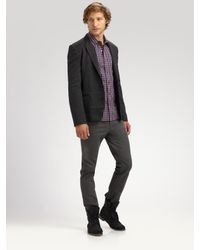 Richard Chai - Gray Classic Skinny Jeans for Men - Lyst