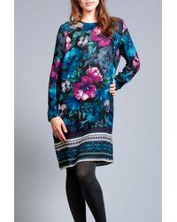 Rodebjer   Blue Candice Flower Dress   Lyst