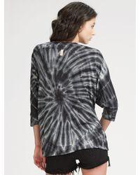 Siwy - Gray Camilla Cut-off Denim Shorts - Lyst