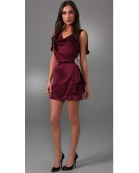 Temperley London | Purple Mini Felisa Dress | Lyst