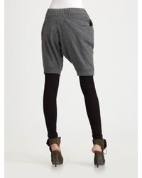 Thakoon - Gray Leggings with Attached Shorts - Lyst