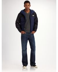 The North Face | Blue Redpoint Optimus Hooded Jacket for Men | Lyst