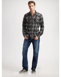 True Religion | Gray Bobby Bootcut Jeans/buckshot for Men | Lyst