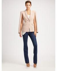 Alexander McQueen | Pink Open Sleeve Tuxedo Jacket | Lyst