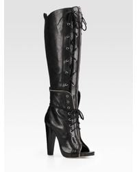 Alexander Wang | Black Freja Lace-up Boots | Lyst