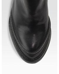 Ann Demeulemeester - Black Wedge Ankle Boot - Lyst