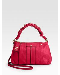 Chloé | Red Heloise Leather Crossbody Bag | Lyst