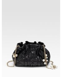 Dior | Black Delices Gaufre Cannage Mini Bag | Lyst