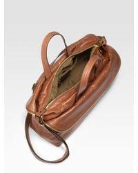 Fendi | Brown Unzipped Zip It Messenger Bag | Lyst
