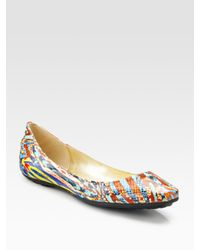 Jimmy Choo - Multicolor Witty Ballet Flats - Lyst