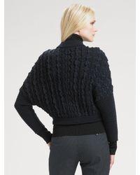 Lavia18 - Blue Dolman Sweater Jacket - Lyst