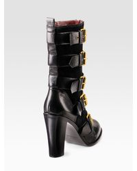 Marc By Marc Jacobs - Black Quilted Leather Boots - Lyst
