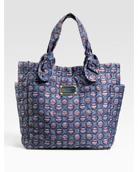 Marc By Marc Jacobs | Blue Pretty Nylon Little Tate Tote | Lyst