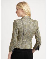 McQ - Green Tweed Jacket - Lyst