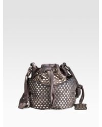 Olivia Harris | Gray Staple Group Baby Ball Bag | Lyst