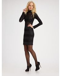 Pleasure Doing Business | Black Long-sleeve Lace Dress | Lyst