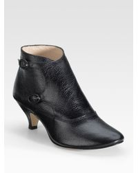 Repetto - Black Marlon Low-heel Ankle Boots - Lyst