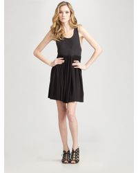 Theory | Black Kimberly Tank Dress | Lyst
