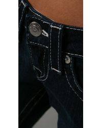 True Religion   Blue Julie Stretch Stovepipe Jeans   Lyst