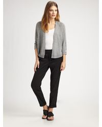 Vince | Gray Swing Shrug Sweater | Lyst