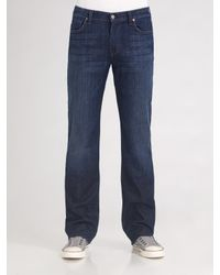 7 For All Mankind - Black 7 For All Mankind 'austyn' Relaxed Straight Leg Jeans for Men - Lyst